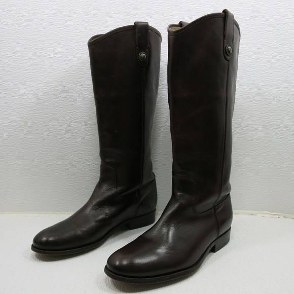 2ef3723cf1c Frye Melissa Button Oil Leather Riding Boot 10 B. M 5be79f469fe486dab0fe9d35